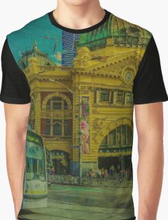 The Cyclist, Toorak Tram and Something Different Graphic T-Shirt