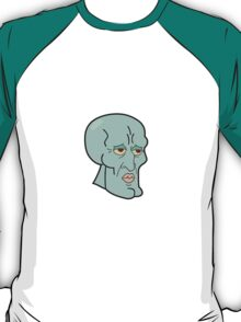 Squidward - spongebob art T-Shirt