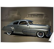 1947 Cadillac with 2002 Northstar V-8 engine Poster