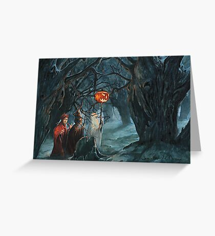 Halloween's Day Greeting Card