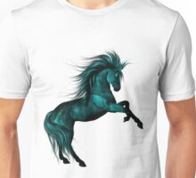Blue Ice .. Fantasy Horse Unisex T-Shirt