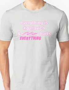 Everything's #gallavich and nothing hurts T-Shirt