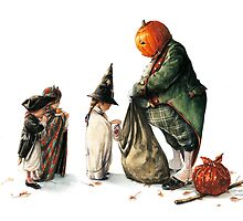 Jack O'Lantern - the Thief of Sweets by JBMonge