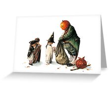Jack O'Lantern - the Thief of Sweets Greeting Card