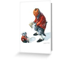 Jack O'Lantern - Booby-trapped Greeting Card