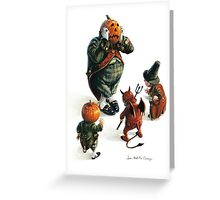 Jack O'Lantern - Tables are turned Greeting Card
