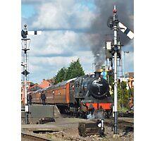 Locomotive Stanier Mogul 42968 Photographic Print
