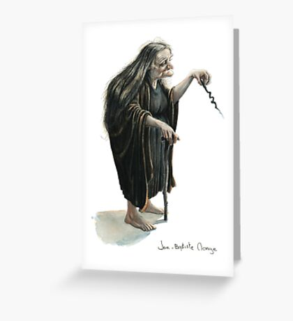 Witchy Witch Greeting Card