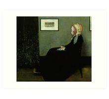 Whistler's Monkey Card Art Print