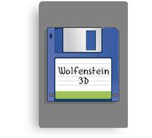 Wolfenstein 3D Retro MS-DOS/Commodore Amiga games Canvas Print