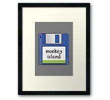 Monkey Island Retro MS-DOS/Commodore Amiga games Framed Print