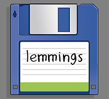 Lemmings Retro MS-DOS/Commodore Amiga games by Creative Spectator