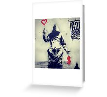 Grafiti art Greeting Card