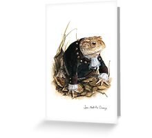 Mr. Toad Greeting Card