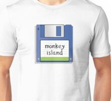 Monkey Island Retro MS-DOS/Commodore Amiga games Unisex T-Shirt