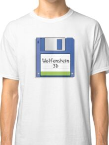 Wolfenstein 3D Retro MS-DOS/Commodore Amiga games Classic T-Shirt