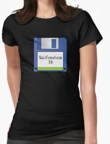 Wolfenstein 3D Retro MS-DOS/Commodore Amiga games Womens Fitted T-Shirt