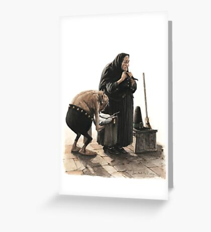Prepare the Witch Greeting Card