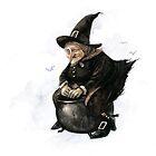 Baba Yaga the Witch by JBMonge