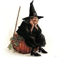The Sad Witch by JBMonge