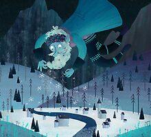 Old Man Winter by megsneggs
