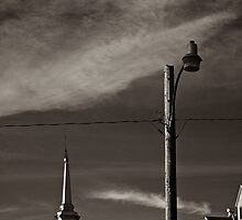 The light and the tower by Pierre-Etienne Vachon