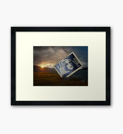 Goodbye Blue Monday Framed Print