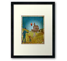 Empty Home Framed Print