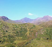 Snowdon Panoramic by mwrey