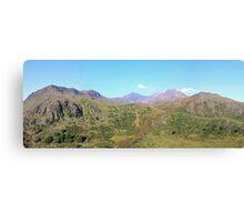 Snowdon Panoramic Canvas Print