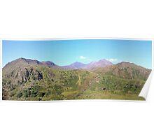 Snowdon Panoramic Poster