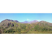 Snowdon Panoramic Photographic Print