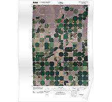 USGS Topo Map Washington State WA Winchester NE 20110425 TM Poster