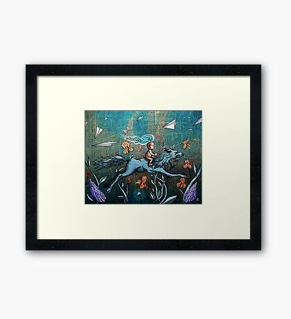 Aspect of Youth Framed Print