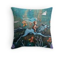 Aspect of Youth Throw Pillow