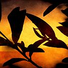 Autumn Abstract by Ellen Cotton
