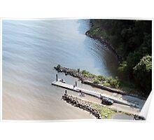 Boat dock in NJ Poster