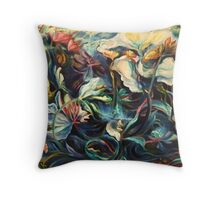 RAINSTORM ON POND, Top To Bottom Throw Pillow