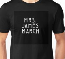 Mrs. James March Unisex T-Shirt