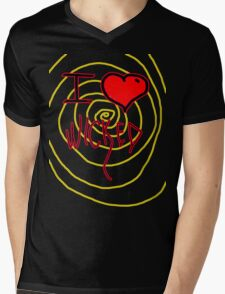 i love wicked  Mens V-Neck T-Shirt