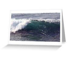 Blurred Splash Greeting Card