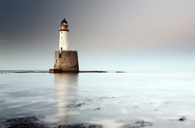 Rattray Head Lighthouse by Grant Glendinning