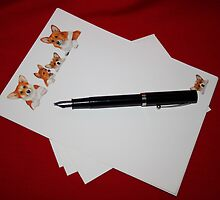 Letter Writing by AnnDixon