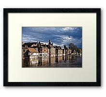 River Ouse in York   HDR Framed Print
