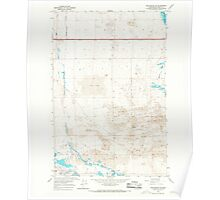 USGS Topo Map Washington State WA Winchester SW 244745 1966 24000 Poster
