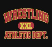 Wrestling Athletic Department by SportsT-Shirts