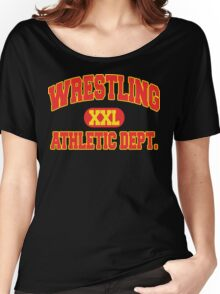 Wrestling Athletic Department Women's Relaxed Fit T-Shirt