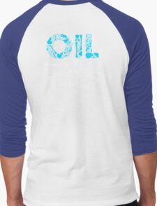 OIL  Men's Baseball ¾ T-Shirt