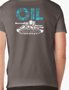 OIL  Mens V-Neck T-Shirt