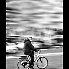 Aged Cyclist by mdias